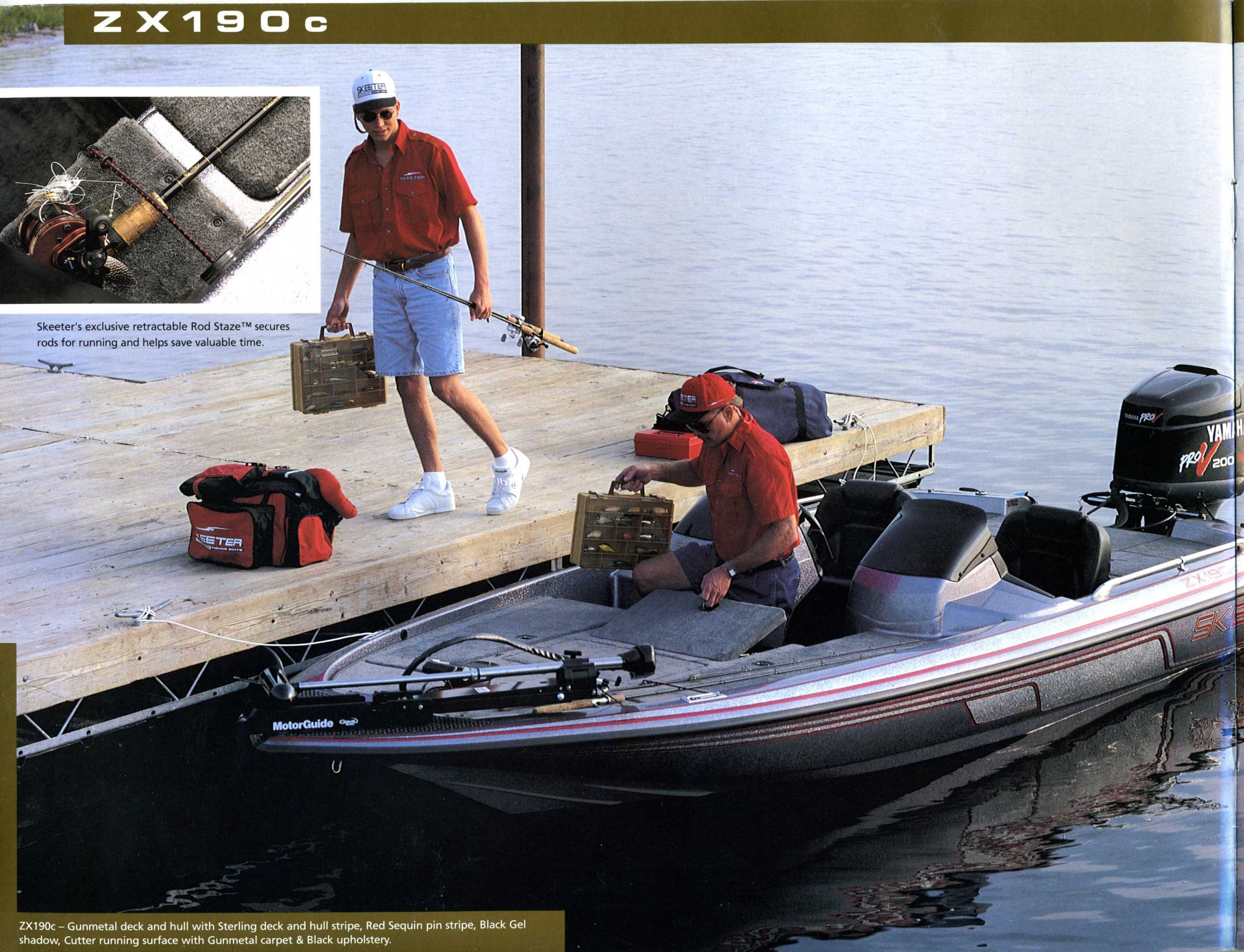 1997 Skeeter Boats Brochure Ss90 Wiring Diagram New Fishing Products In