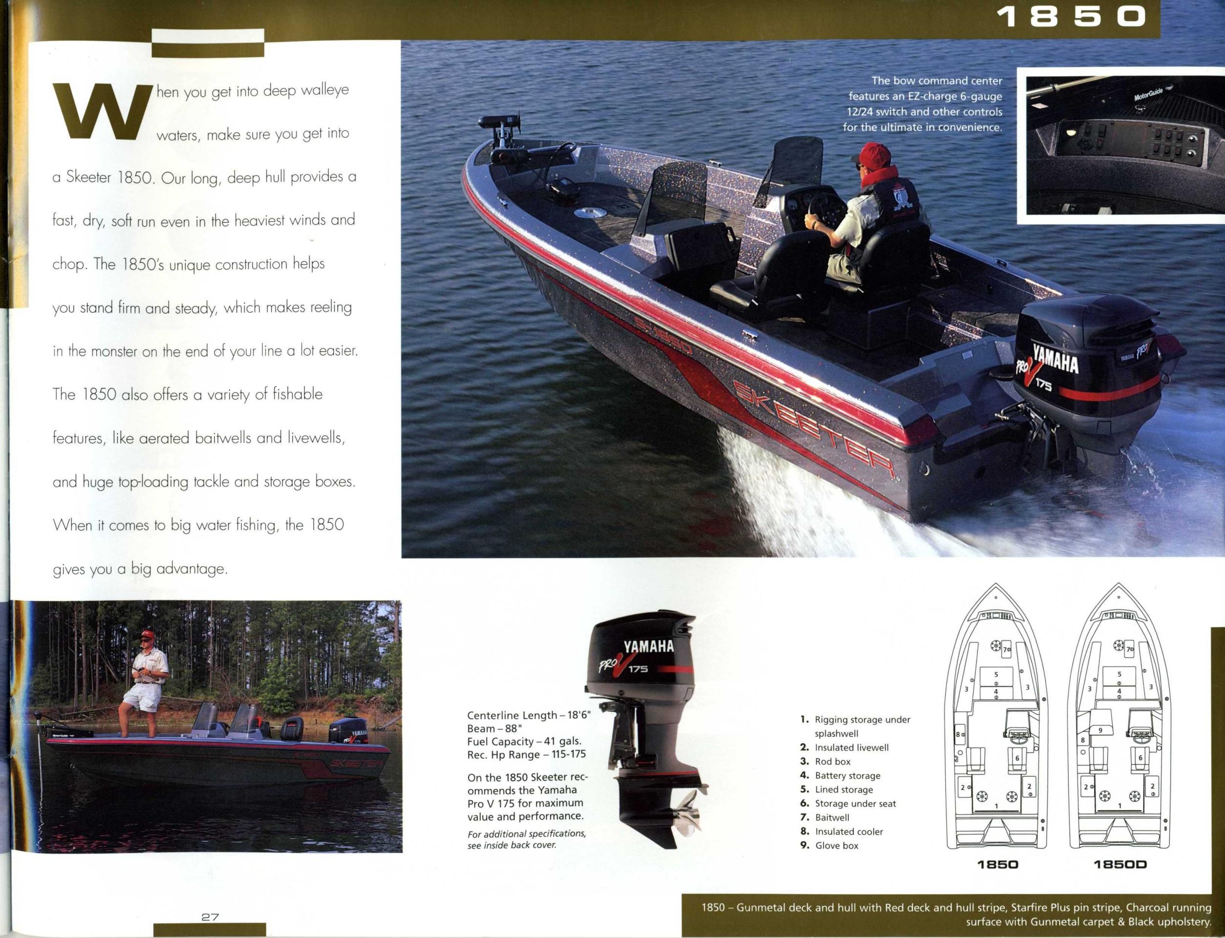 1997 Skeeter Boats Brochure Ss90 Wiring Diagram Click To Return