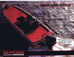 1999 skeeter fishing boats brochure champion boat motor